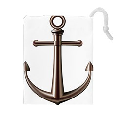Anchor Drawstring Pouches (extra Large) by BangZart