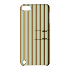 Elegant Stripes Apple Ipod Touch 5 Hardshell Case With Stand by Colorfulart23