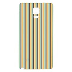 Elegant Stripes Galaxy Note 4 Back Case by Colorfulart23