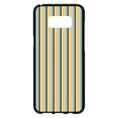 Elegant Stripes Samsung Galaxy S8 Plus Black Seamless Case by Colorfulart23