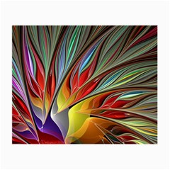 Fractal Bird Of Paradise Small Glasses Cloth (2 Side)