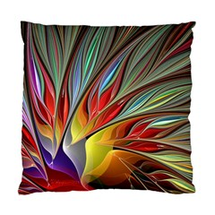 Fractal Bird Of Paradise Standard Cushion Case (two Sides) by WolfepawFractals