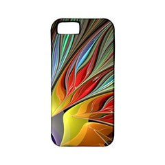 Fractal Bird Of Paradise Apple Iphone 5 Classic Hardshell Case (pc+silicone) by WolfepawFractals