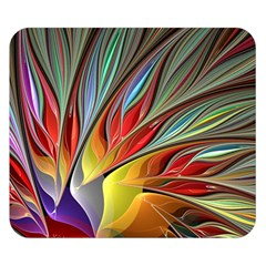 Fractal Bird Of Paradise Double Sided Flano Blanket (small)  by WolfepawFractals