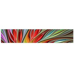 Fractal Bird Of Paradise Flano Scarf (large)