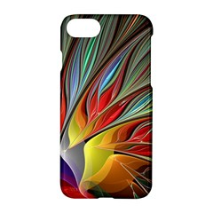 Fractal Bird Of Paradise Apple Iphone 7 Hardshell Case by WolfepawFractals