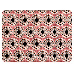 Black Stars Pattern Samsung Galaxy Tab 7  P1000 Flip Case by linceazul