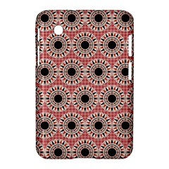 Black Stars Pattern Samsung Galaxy Tab 2 (7 ) P3100 Hardshell Case  by linceazul