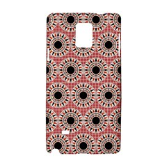 Black Stars Pattern Samsung Galaxy Note 4 Hardshell Case by linceazul