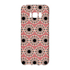 Black Stars Pattern Samsung Galaxy S8 Hardshell Case  by linceazul