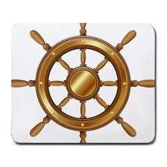 Boat Wheel Transparent Clip Art Large Mousepads by BangZart