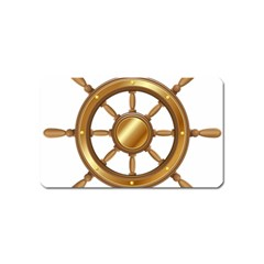 Boat Wheel Transparent Clip Art Magnet (name Card)