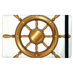 Boat Wheel Transparent Clip Art Apple Ipad 3/4 Flip Case by BangZart