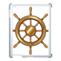 Boat Wheel Transparent Clip Art Apple Ipad 3/4 Case (white) by BangZart