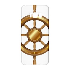 Boat Wheel Transparent Clip Art Samsung Galaxy S8 Hardshell Case  by BangZart