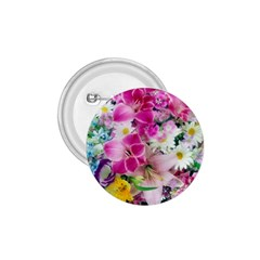 Colorful Flowers Patterns 1 75  Buttons by BangZart