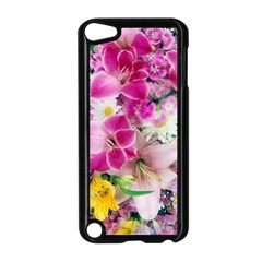 Colorful Flowers Patterns Apple Ipod Touch 5 Case (black) by BangZart