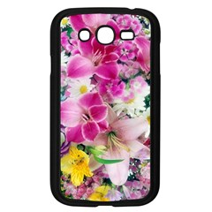 Colorful Flowers Patterns Samsung Galaxy Grand Duos I9082 Case (black) by BangZart