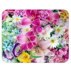 Colorful Flowers Patterns Double Sided Flano Blanket (medium)  by BangZart