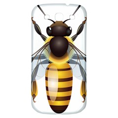 Bee Samsung Galaxy S3 S Iii Classic Hardshell Back Case by BangZart