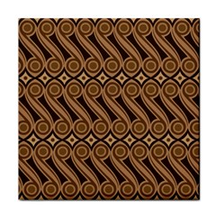 Batik The Traditional Fabric Tile Coasters by BangZart