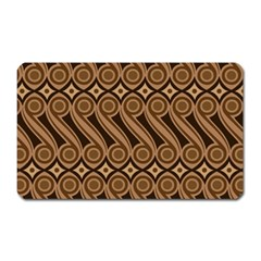 Batik The Traditional Fabric Magnet (rectangular) by BangZart