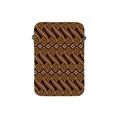 Batik The Traditional Fabric Apple Ipad Mini Protective Soft Cases by BangZart