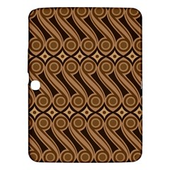 Batik The Traditional Fabric Samsung Galaxy Tab 3 (10 1 ) P5200 Hardshell Case  by BangZart