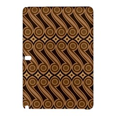 Batik The Traditional Fabric Samsung Galaxy Tab Pro 12 2 Hardshell Case by BangZart