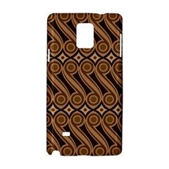 Batik The Traditional Fabric Samsung Galaxy Note 4 Hardshell Case by BangZart