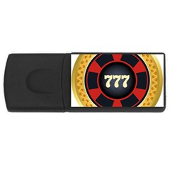 Casino Chip Clip Art Rectangular Usb Flash Drive by BangZart