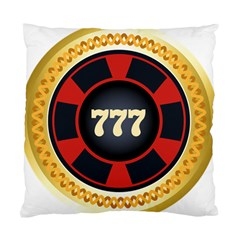Casino Chip Clip Art Standard Cushion Case (one Side) by BangZart