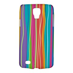 Colorful Striped Background Galaxy S4 Active by TastefulDesigns