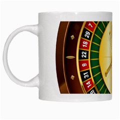 Casino Roulette Clipart White Mugs by BangZart