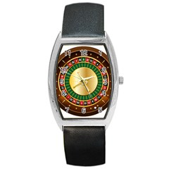 Casino Roulette Clipart Barrel Style Metal Watch by BangZart