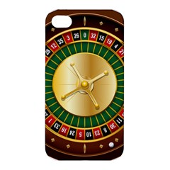 Casino Roulette Clipart Apple Iphone 4/4s Hardshell Case by BangZart