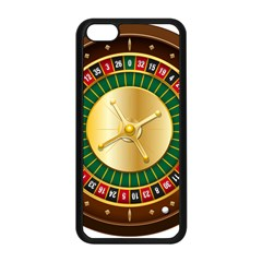 Casino Roulette Clipart Apple Iphone 5c Seamless Case (black) by BangZart
