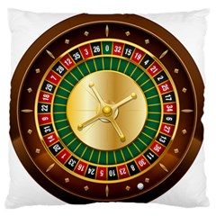 Casino Roulette Clipart Standard Flano Cushion Case (one Side)