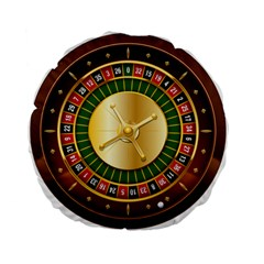 Casino Roulette Clipart Standard 15  Premium Flano Round Cushions by BangZart