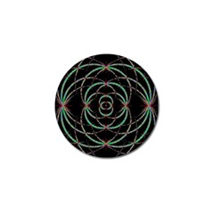 Abstract Spider Web Golf Ball Marker (10 Pack) by BangZart
