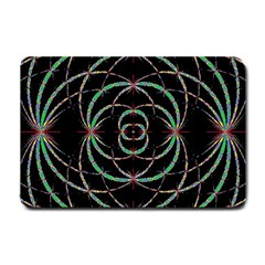 Abstract Spider Web Small Doormat  by BangZart