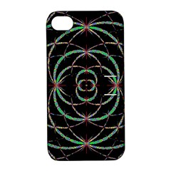 Abstract Spider Web Apple Iphone 4/4s Hardshell Case With Stand by BangZart