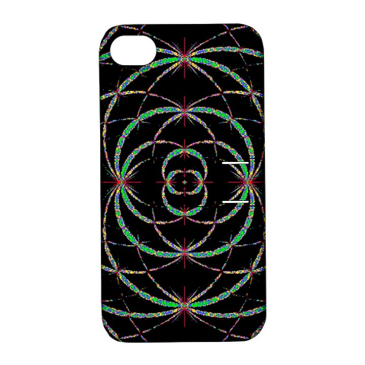 Abstract Spider Web Apple iPhone 4/4S Hardshell Case with Stand