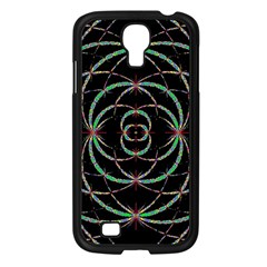 Abstract Spider Web Samsung Galaxy S4 I9500/ I9505 Case (black) by BangZart
