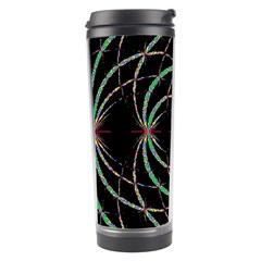 Abstract Spider Web Travel Tumbler by BangZart