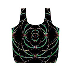 Abstract Spider Web Full Print Recycle Bags (m)  by BangZart