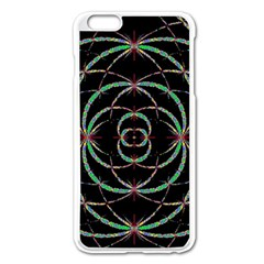 Abstract Spider Web Apple Iphone 6 Plus/6s Plus Enamel White Case by BangZart