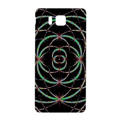 Abstract Spider Web Samsung Galaxy Alpha Hardshell Back Case by BangZart
