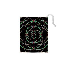 Abstract Spider Web Drawstring Pouches (xs)  by BangZart