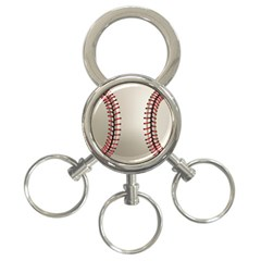 Baseball 3 Ring Key Chains by BangZart